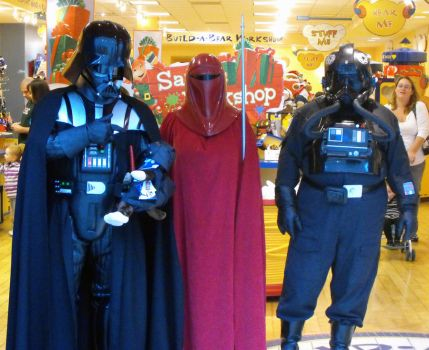 Darth at build a bear by zombiebe10u