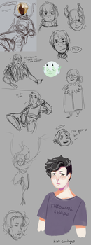 ow sketch dump by kat-eunhyeo