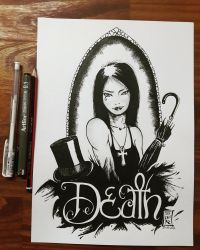 Death - The Endless by Bayushi-Tai