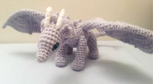 Crochet Amigurumi Dragon by fyre-fly
