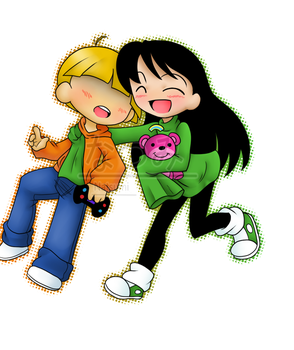KND: Wally and Kuki by Natsumi-chan0wolf
