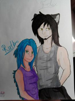 Felix and Ruth by SonicaHedge