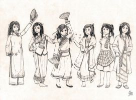 The Women of the Orient by MmmAnchovies