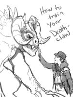 how to train your deathclaw by saeto15
