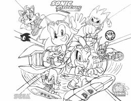 Sonic Riders Artwork by BlueTyphoon17