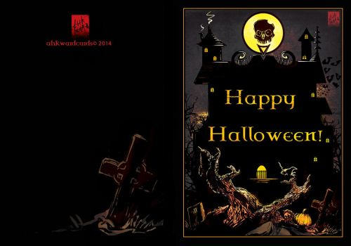 Happy Halloween 2014 by Ahkward