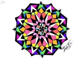Mandala by GeorgeXVII