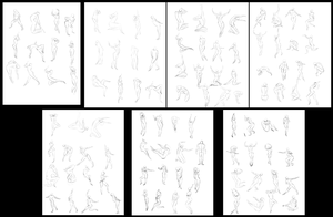 100+ Two Minute Gestures by AOKStudio
