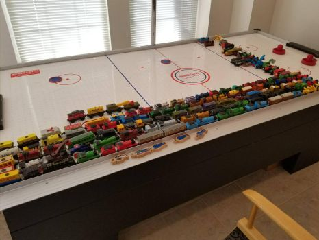 my Thomas and friends toy collection by DJDrago9712