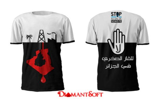 No for Schist gas in Algeria by DiamantSoft