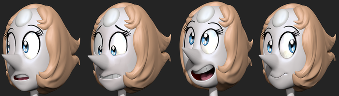 Pearl 3D Expressions by Lemurfeature