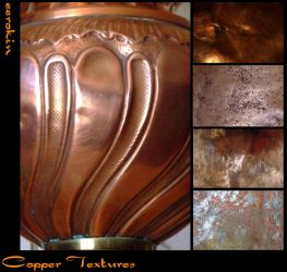 copper textures by eerokin