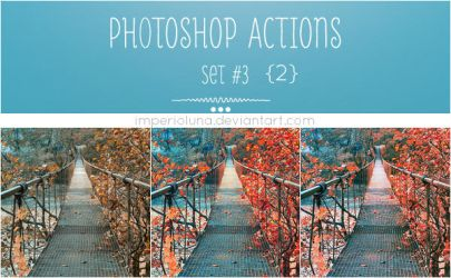 Photoshop Actions 3 by enhancers