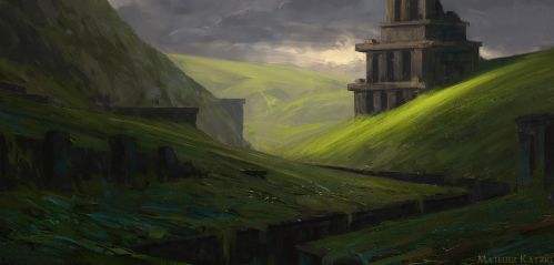 Through the valley by Narholt