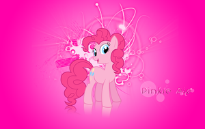 Pinkie Pie Wallpaper by Vexx3