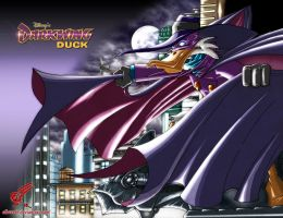 Darkwing Duck by albreech
