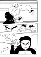 Fight Scene pg2 by QuesoGr7