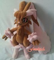 Cupcake the Lopunny plush by Feneksia-Creations