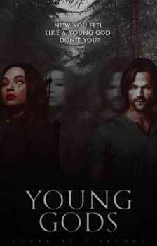 Young Gods | Wattpad Cover by heartless-babe