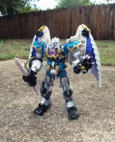 Predacon Commander Sixshot by Unicron9