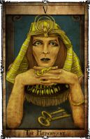 Bowie Tarot Collection - V - The Hierophant by Triever