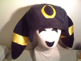 UMBREON Hat with Satin by tacksidermia