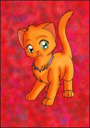 The Red cat by Matteo702