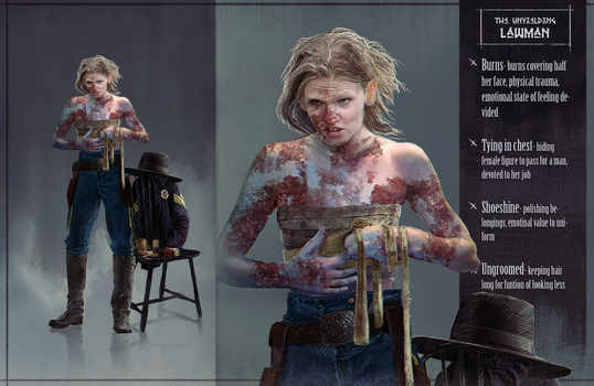 Wild west challenge - The Ugly law - Hulda by Roiuky