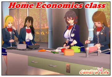 Home Economics class by AndrewBaker69