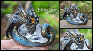 Crystal Dragon Sculpt by HiddenTreasury