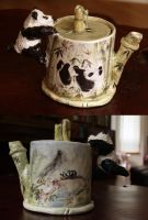 Bamboo Teapot by milbisous