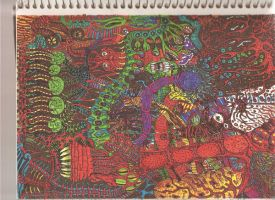 Sharpie madness by 6Houdini