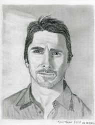 Christian Bale by AndreyMosolov