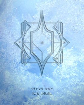 Ice Sigil by AenTheArtist