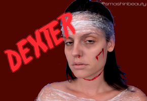 Dexter's Victim Halloween Makeup by smashinbeauty