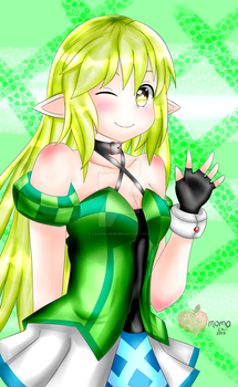Elsword Girls: Rena by lilicovian03