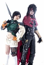 Yuffie and Vincent cosplay by mayuyu0405
