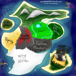 Map of Wings Of The Pegasus by AngelCnderDream14