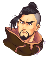 Reflections: Hanzo by MaruHimeChan