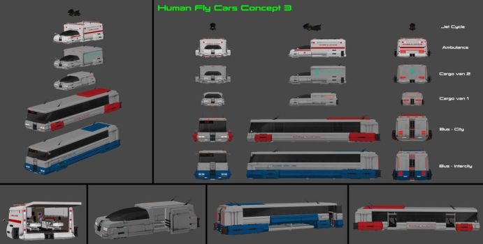 Fly Cars Concept - Part 3 by nach77