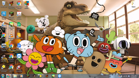 Windows 7 Desktop: The Amazing World of Gumball by jcpag2010