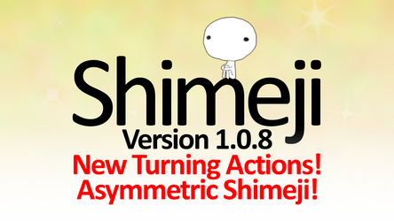 Shimeji 1.0.8 - Asymmetry And Turning Actions! by KilkakonOfficial