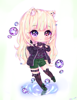 [+Video] Commission - Angel and First Bubble ! by Nelkah-Kaylina