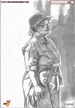 Mother And Child Inks by MbK14