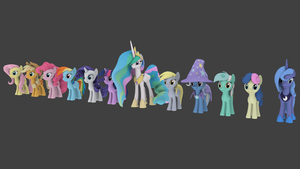 Cheerilee's Gmod Ponies for Blender Ver. 2.0 by pizzalover53