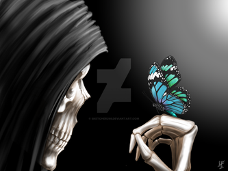 Death and the Butterfly by sketcher298