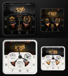 Steampunk Ultimate Square Watch HD for xwidget by Jimking