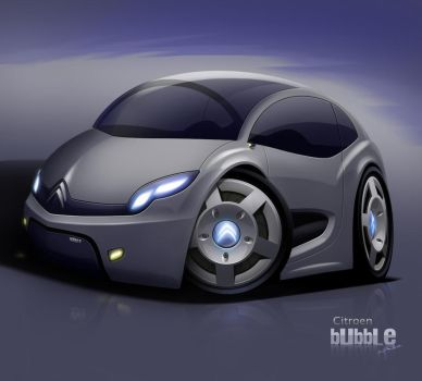 citroen buble concpet car by hugosilva