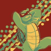 TMNT Color Challenge Raph 17 by Dragona15