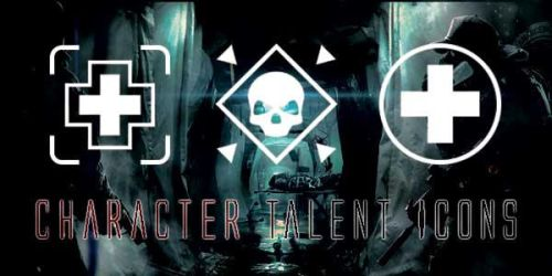 The Division Char Talent Icons by Evil aka Silver by silver-